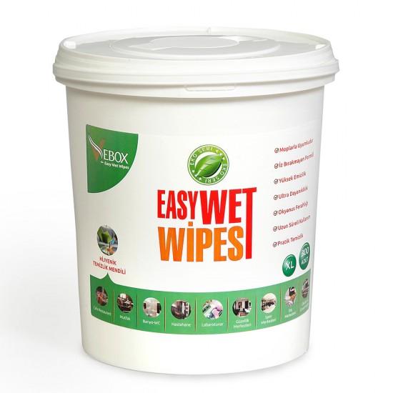 Vebox Easy Wet Wipes Hijyenik Kova Mendil Eko (300 Adet)